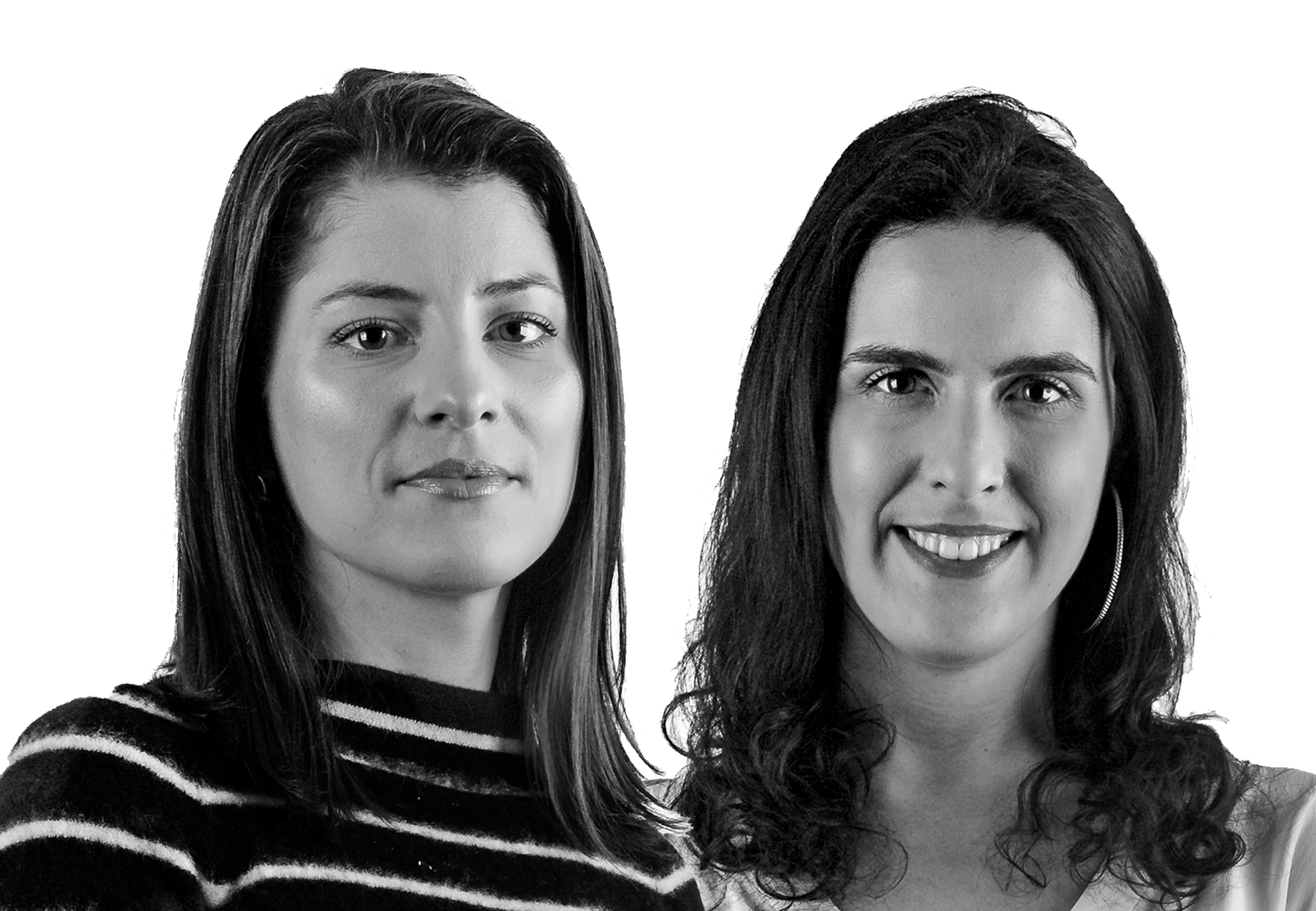 Ana Ponsam e Paola Fiamoncini