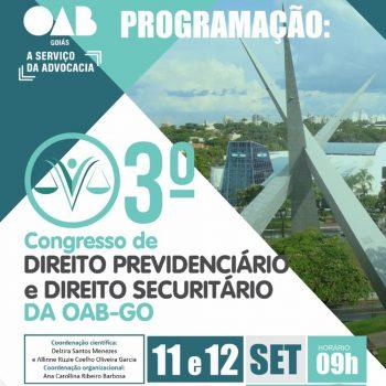 Congresso de Direito Previdenciário e Direito Securitário da OAB - Go